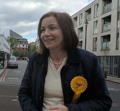 Bridget Fox - Liberal Democrats - Cities of London & Westminster